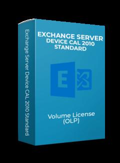 Microsoft Exchange Server Device CAL 2010 Standard - Volume Licentie
