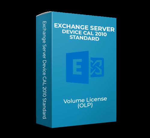 Microsoft Exchange Server Device CAL 2010 Standard - Volume Licentie -  SKU: 381-04178