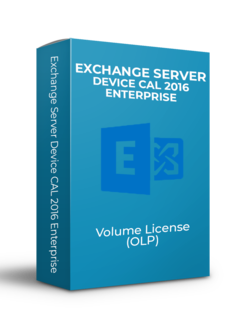Microsoft Exchange Server Device CAL 2016 Enterprise - Volume Licentie