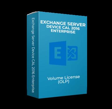 Microsoft Exchange Server Device CAL 2016 Enterprise - Volume Licentie