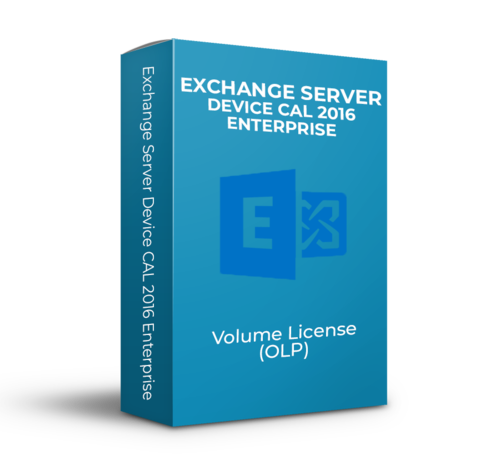 Microsoft Exchange Server Device CAL 2016 Enterprise - Volume Licentie - SKU: PGI-00683