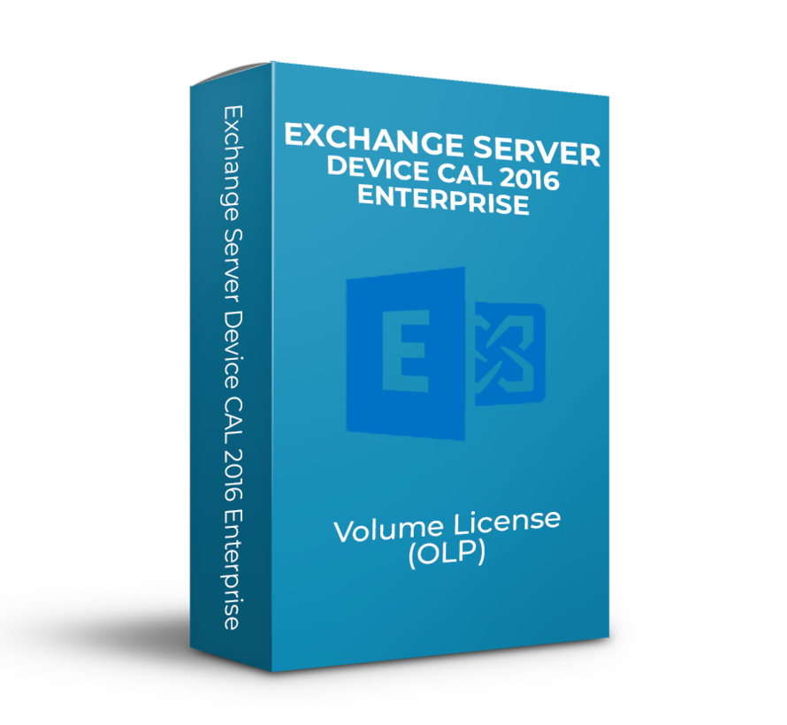 Exchange Server Device CAL 2016 Enterprise - Volume Licentie - SKU: PGI-00683