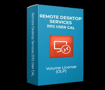 Microsoft Remote Desktop Services 2012 User CAL - Volume Licentie