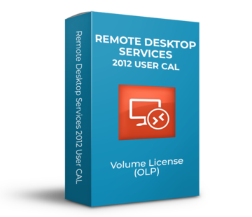 Microsoft Remote Desktop Services 2012 - User CAL