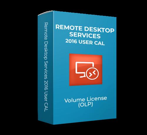 Microsoft Microsoft  Remote Desktop Services 2016 User CAL - Volume Licentie - SKU: 6VC-03224