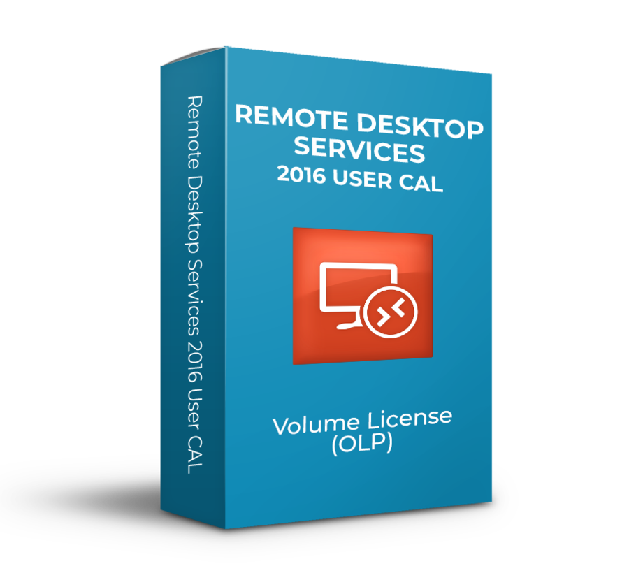 Microsoft  Remote Desktop Services 2016 User CAL - Volume Licentie - SKU: 6VC-03224