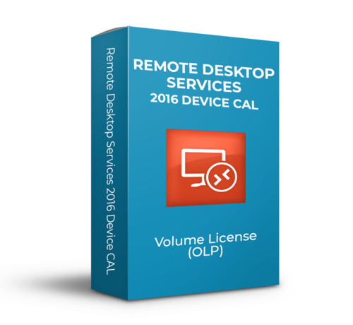 Microsoft Microsoft Remote Desktop Services 2016 Device CAL - Volume Licentie - SKU: 6VC-03222