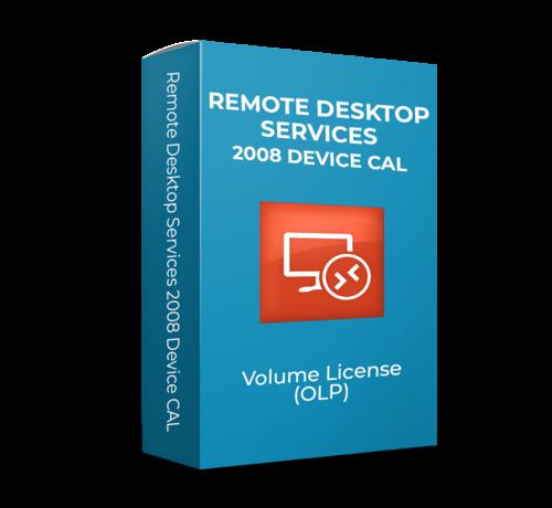 Microsoft Microsoft  Remote Desktop Services 2008 R2 Device CAL  - Volume Licentie