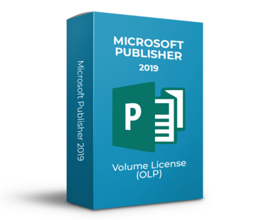 Microsoft Microsoft Publisher 2019 - Volume Licentie