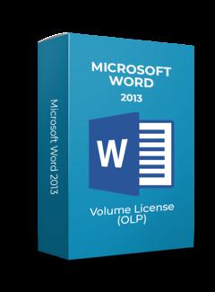 Microsoft Microsoft Word 2013 - Volume Licentie