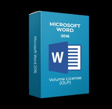 Microsoft Microsoft Word 2016  - Volume Licentie