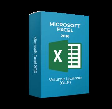 Microsoft Microsoft Excel 2016 - Volume Licentie
