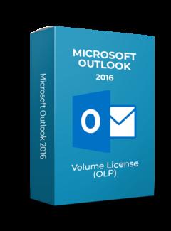 Microsoft Microsoft Outlook 2016 - Volume Licentie