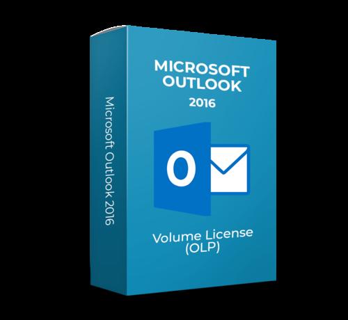 Microsoft Microsoft Outlook  2016 - Volume Licentie - SKU: 543-06497