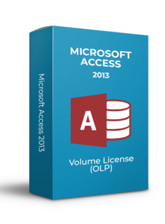 Microsoft Microsoft Access 2013 - Volume Licentie