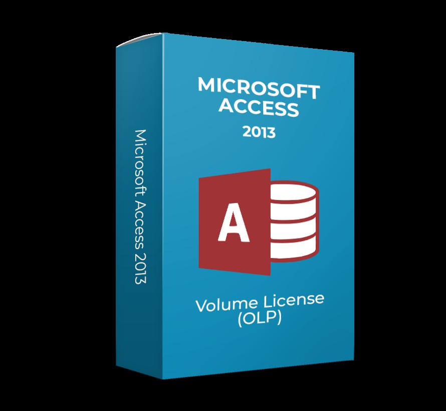 Microsoft Access 2013 - Volume Licentie