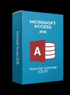 Microsoft Microsoft Access 2016 - Volume Licentie