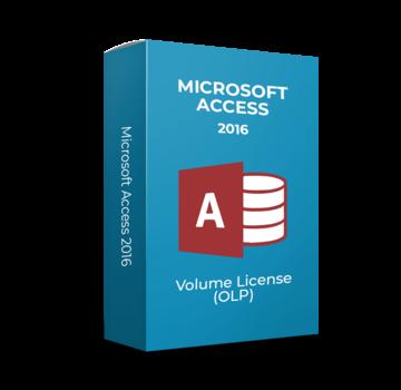 Microsoft Microsoft Access - 2016