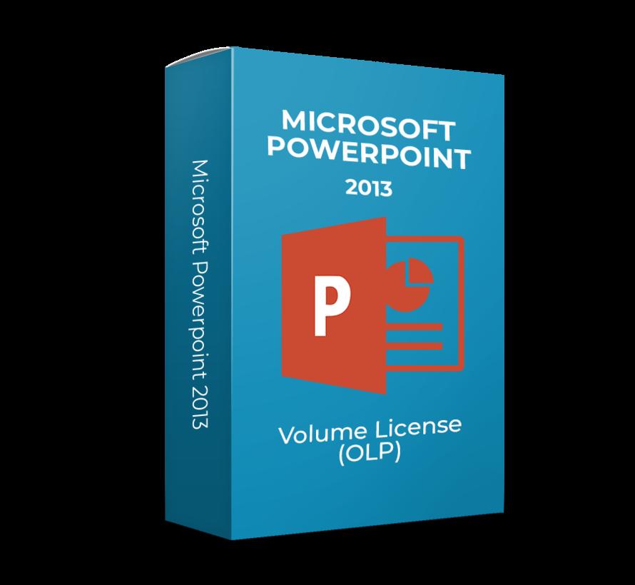 Microsoft Powerpoint 2013 - Volume Licentie