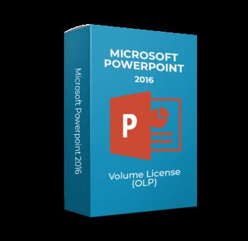 Microsoft Microsoft Powerpoint 2016 - Volume Licentie