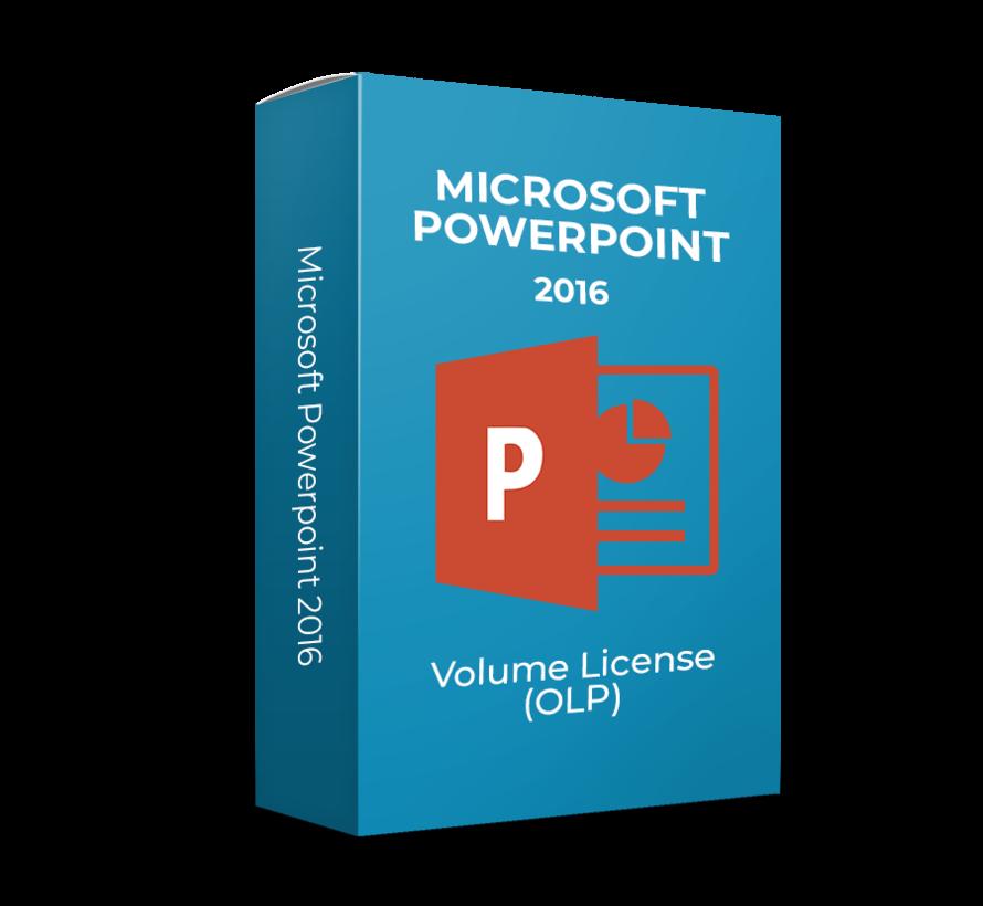 Microsoft Powerpoint 2016 - Volume Licentie