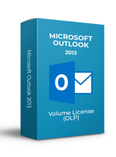 Microsoft Microsoft Outlook 2013 - Volume Licentie