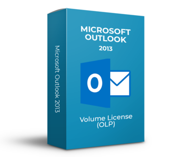 Microsoft Microsoft Outlook 2013 - Volume Licentie