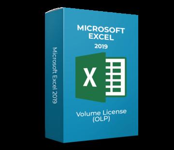 Microsoft Microsoft Excel 2019 - Volume Licentie