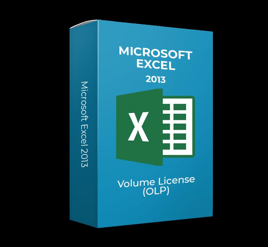 Microsoft Excel 2013 - Volume Licentie