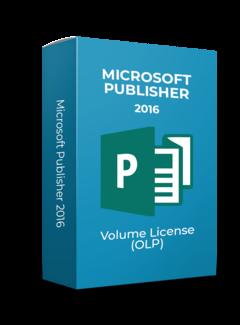 Microsoft Microsoft Publisher 2016 - Volume Licentie