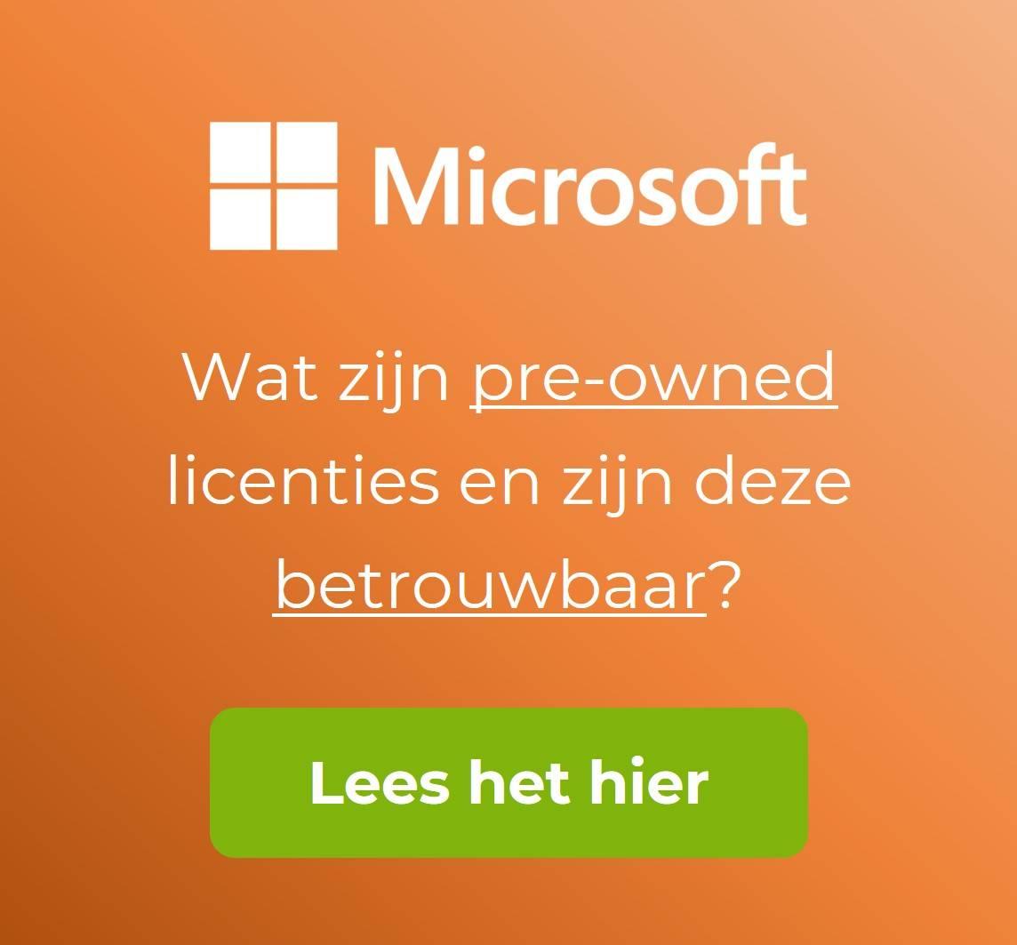 Microsoft licenties kopen?  Gebruikte Open License Licenties | Online bij ESDStore.nl