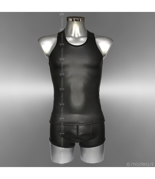 Modea - Private Label Tough Neoprene (rubber) men's tank top
