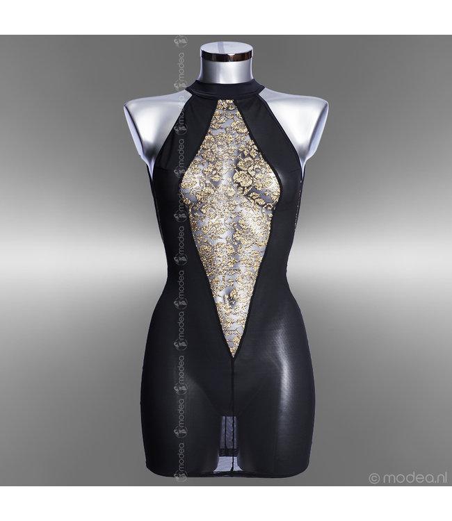Modea - moda sensuale Transparante lingerie jurk High Class