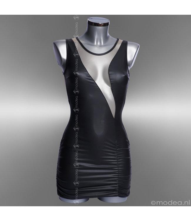 """Exclusive soft-nude wetlook dress """"Julia"""""""