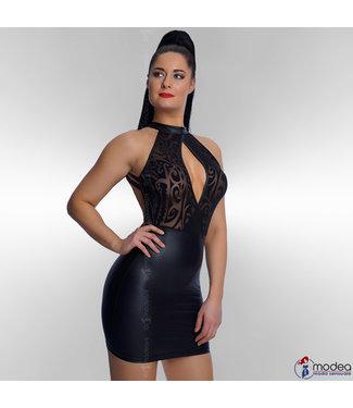 Modea - moda sensuale Classy Wetlook jurk Tattouagio