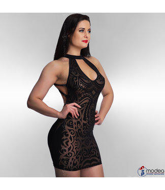 "Modea - moda sensuale Verleidelijke transparante  jurk ""Tattouagio 2"""