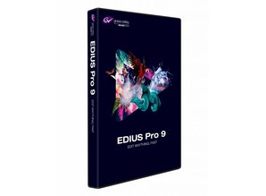 Grass Valley EDIUS Pro 9 Upgrade from Pro 8 or Workgroup 8