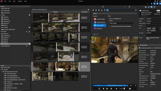 EDIUS 9 Mync screenshot