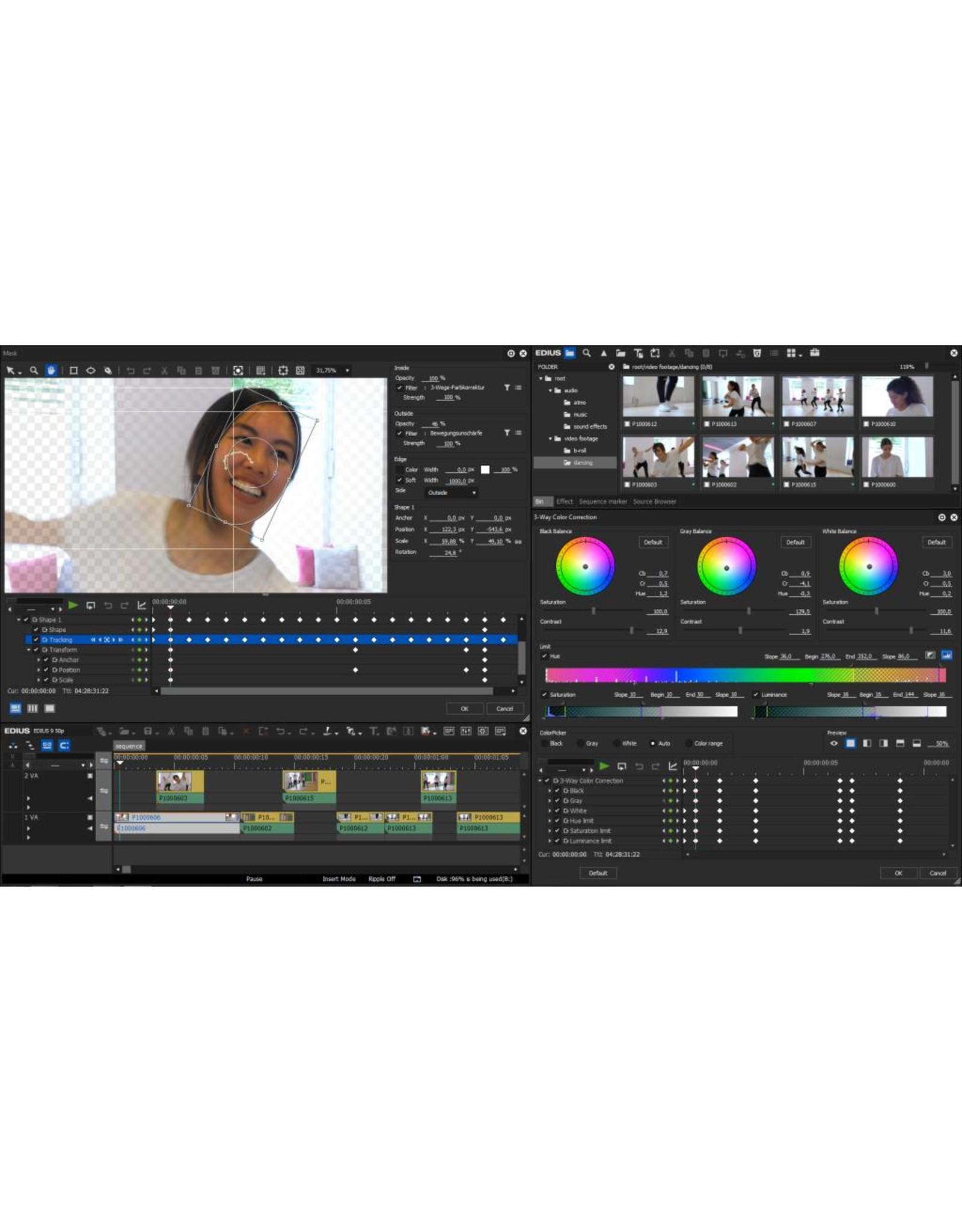 Priveles videomonteren met EDIUS per uur