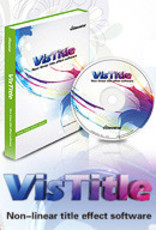 VisDOM VisTitle 2.8 titler software plug-in for EDIUS 9 and others (serial)