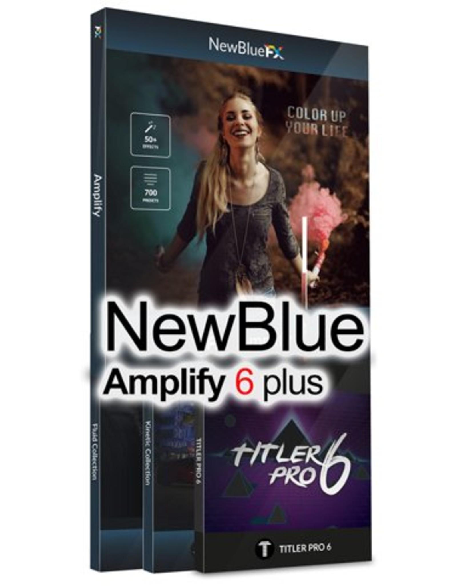 NewBlueFX Amplify 6 plus for EDIUS 9