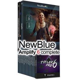 NewBlueFX Amplify 6 complete for EDIUS 9