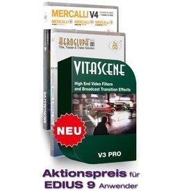 ProDAD ProDAD Vitascene V3 Pro + Mercalli V4 Suite + Heroglyph V4 Pro Promo for EDIUS 9