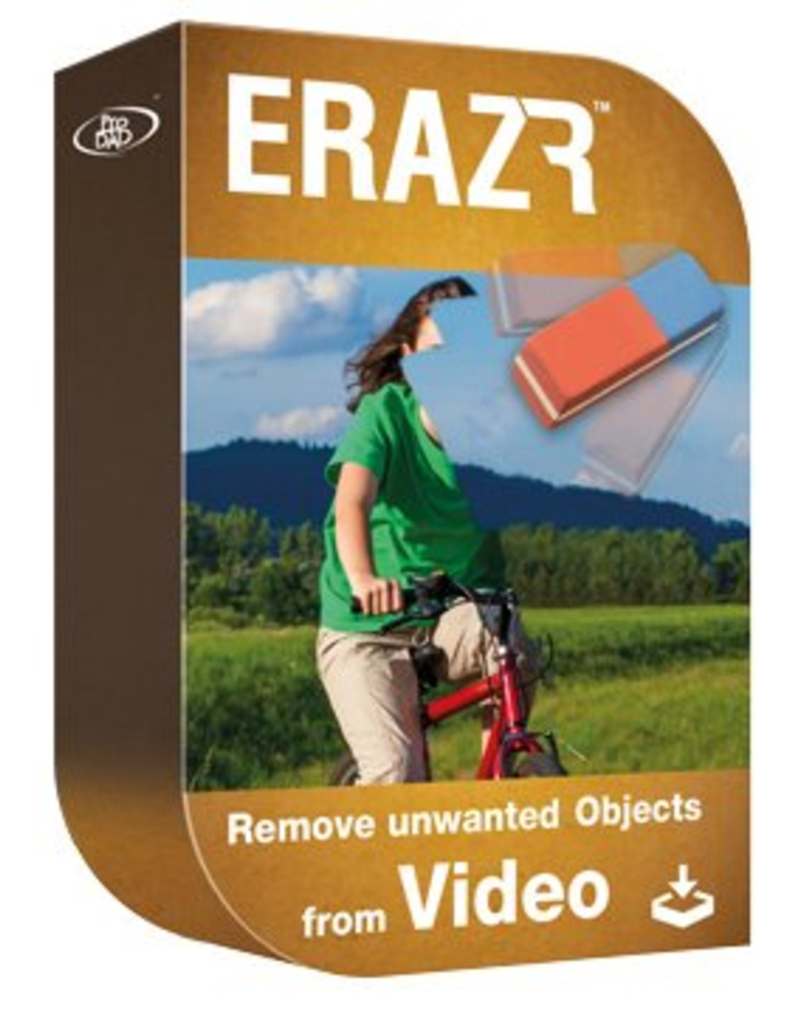 ProDAD ProDAD Erazr - Delete unwanted objects from video, quick and easy (no Plug-in, Stand alone software)