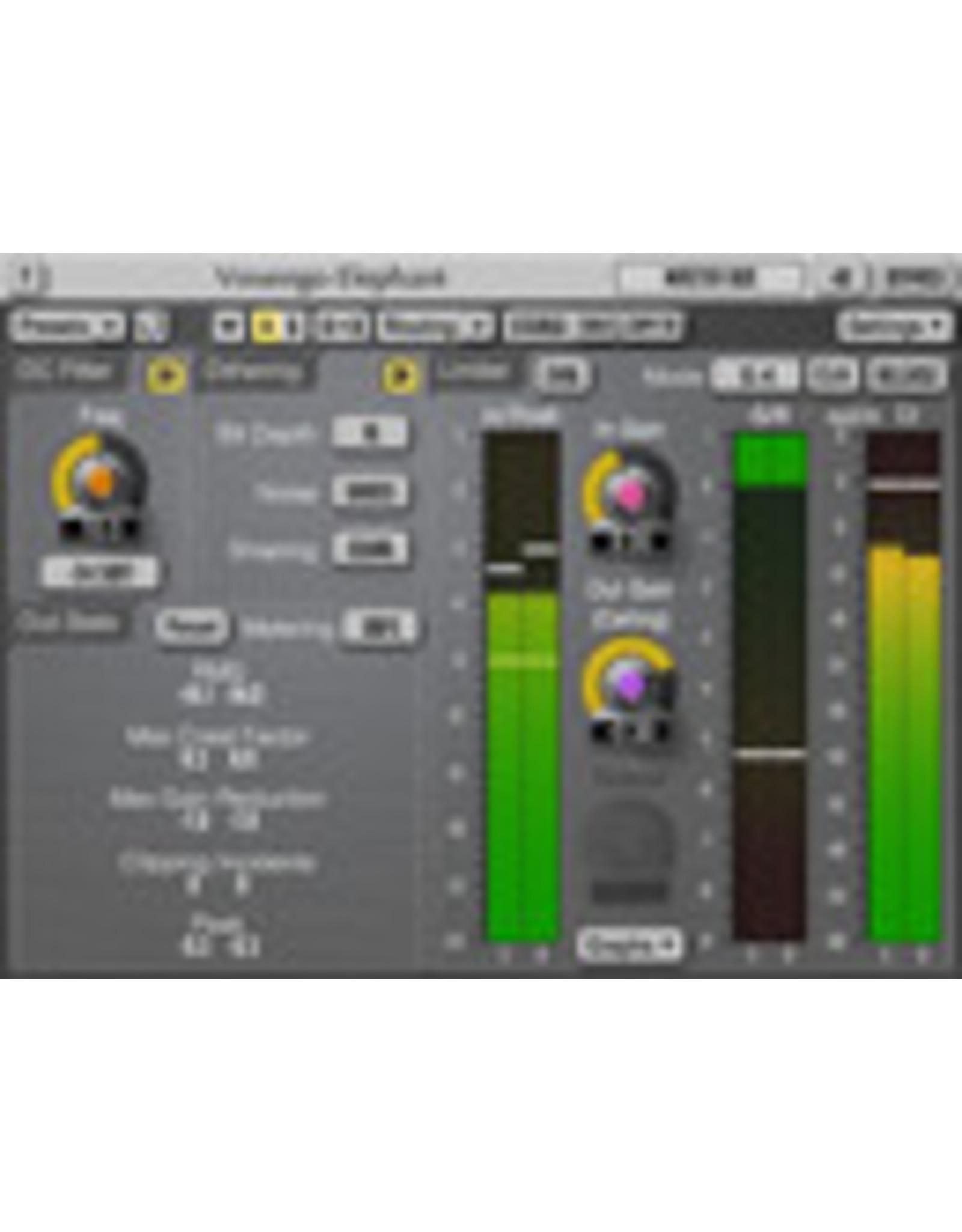 Voxengo Elephant Mastering Limiter VST Plug-in for EDIUS