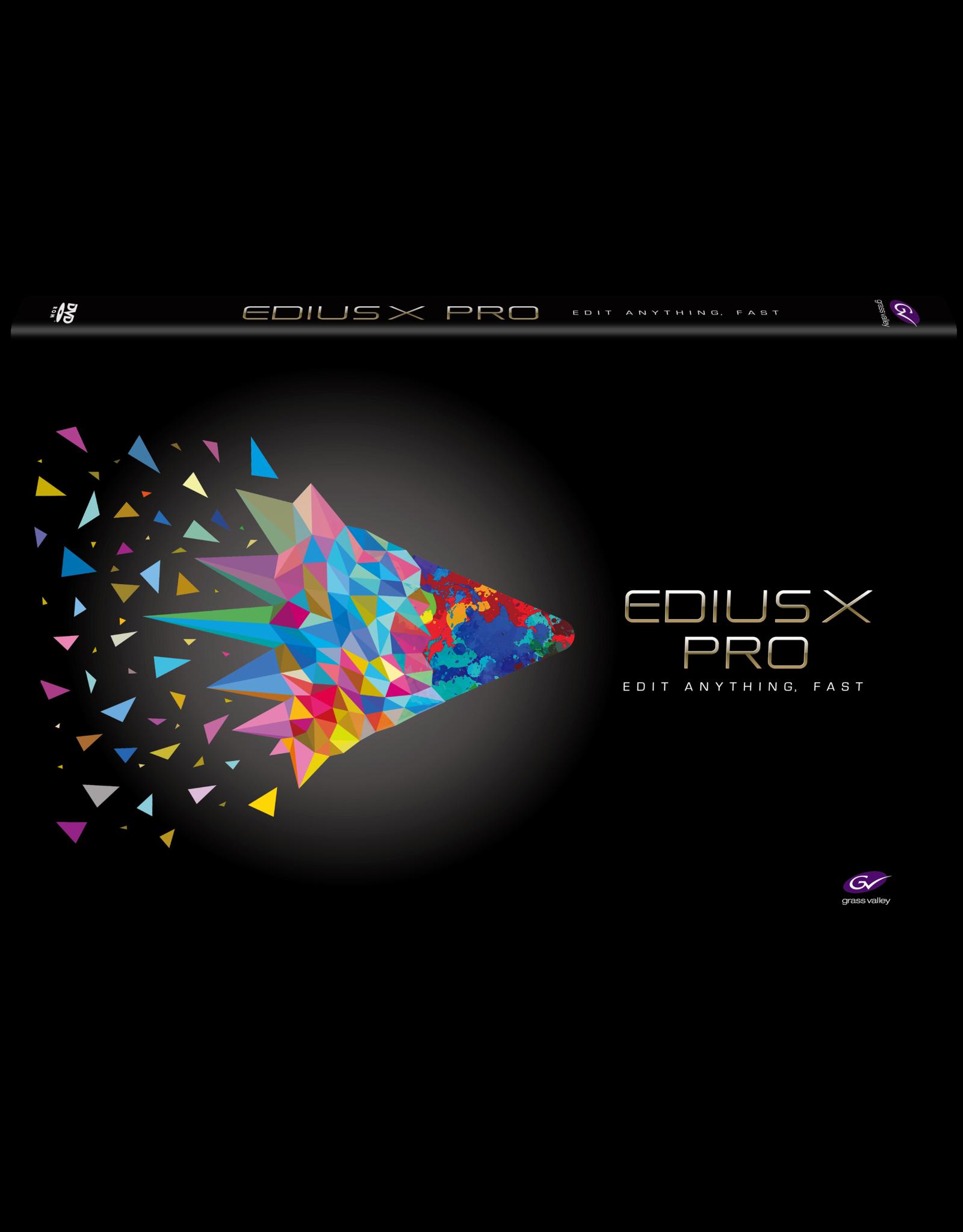 Grass Valley EDIUS X Pro Upgrade from EDIUS Pro 9 / Workgroup 9