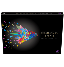 Grass Valley EDIUS X Pro Upgrade from EDIUS Pro 9 / Workgroup 9