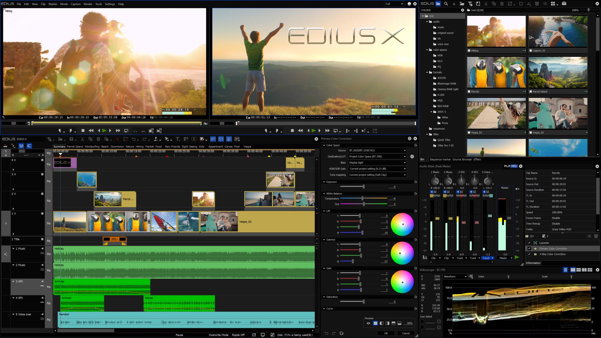 EDIUS X Pro
