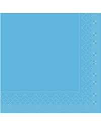 Servet Tissue 3 laags Aquablauw 40x40cm 1/4 vouw bestellen