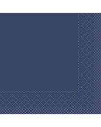 Servet Tissue 3 laags Blauw 40x40cm 1/4 vouw bestellen